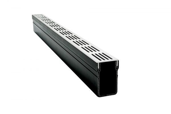Отводнителен улей DLT STAR DRAIN с алуминиева решетка хром